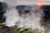 Sunrise at Landmannalaugar, Iceland. von Mikael Svensson