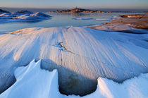 Frosty coastal landscape  von Mikael Svensson