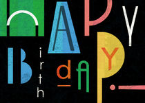 Happy Birthday! von Benjamin Bay