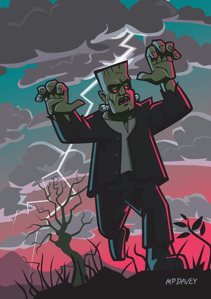 Frankenstien-creature-in-storm-a3