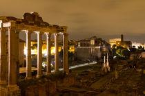 Roman Forum, Rome, Italy by Evren Kalinbacak