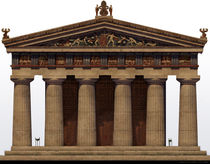 Greek Archaic Templ by Juan Alvarez de Lara