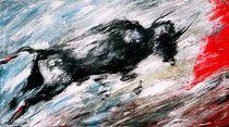 rasender Stier von Renate Berghaus