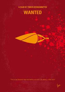 No176 My Wanted minimal movie poster von chungkong
