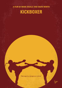 No178 My Kickboxer minimal movie poster von chungkong