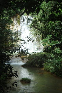 Waterfall, Samana  by Tricia Rabanal