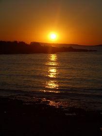 Sunset fire, Ibiza  von Tricia Rabanal