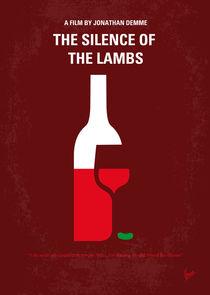 No078 My Silence of the lamb minimal movie poster von chungkong
