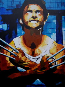Hugh Jackman in x men von Peter Witzik