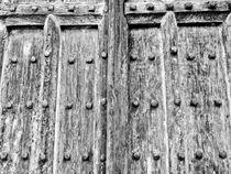 Ancient Church Door von David Pyatt