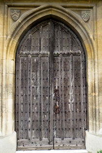 Church door von David Pyatt