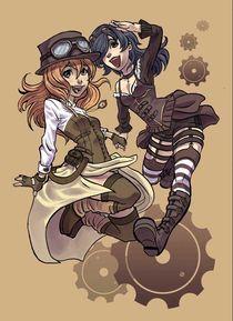 steampunk girls von Marisa Martinez
