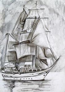 Segelschiff von Irina Usova