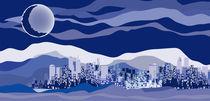 blue city by Serge Tatchyn