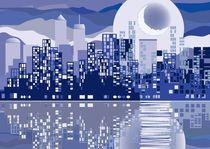 night city by Serge Tatchyn