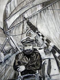 Schiffskapitän von Irina Usova