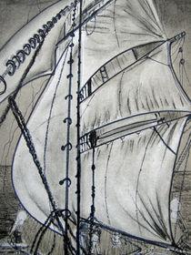 Segelboot von Irina Usova