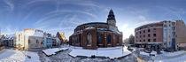 Doma square panorama, Riga, Latvia von paulsphoto