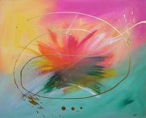 "Modernes abstraktes Bild ""When dreams come true"" - bunt by martink-kunst"