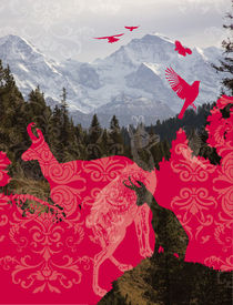 nostalgic mountains von unikum Silvia Ringgenberg / Barbara Flückiger