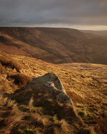 Rock on Kinder Scout by Andy Stafford