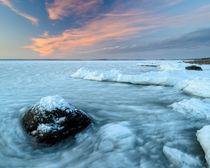 Frozen coastline von Mikael Svensson