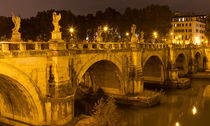 Ponte Sant'Angelo by Evren Kalinbacak