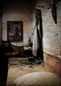 A cell in Santa Barbara Mission by RicardMN Photography