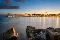 Barcelona Sunset by Michael Abid