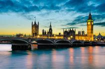 London Sunset von Michael Abid