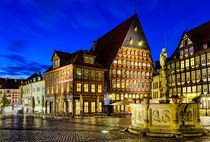 Old Town in Germany von Michael Abid