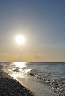 Silver Sunset Beach, Cuba von Tricia Rabanal