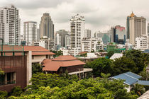 Bangkok city landscape by Chris Christidis