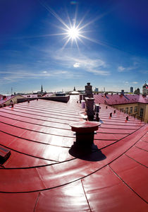 ROOF SUN LOUNGE by paulsphoto