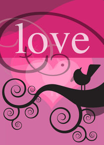love and a bird von thomasdesign