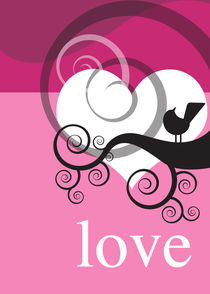 love and a bird3 von thomasdesign