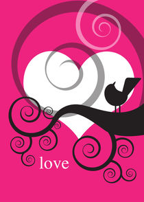 love and a bird 4 von thomasdesign