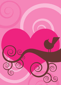 love and a bird 5 by thomasdesign