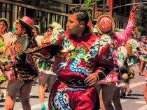 LATINO AMERICAN DANCERS IN NYC by Maks Erlikh