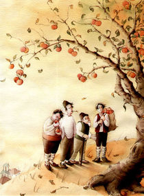 Der Vater und die drei Brüder von Denitza Gruber