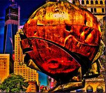 Broken big apple by Maks Erlikh
