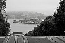 Alcatraz Island from Hyde Street in San Francisco von RicardMN Photography