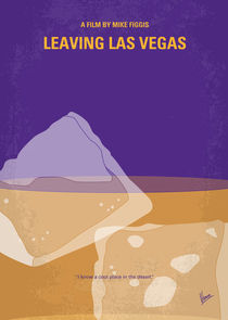 No180 My Leaving Las Vegas minimal movie poster by chungkong
