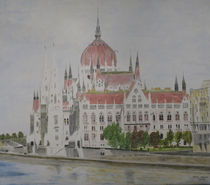 Parlament-Budapest by Helmut Hackl