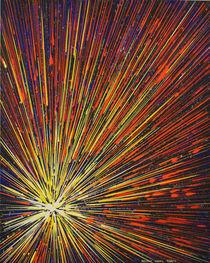 Leuchten das nach außen strebt by Helmut Hackl