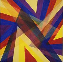 Spitzen übereinander - pyramidal von Helmut Hackl