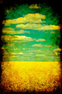Spring landscape. von Hobort Hob