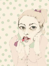 lipstick by Cecilia Sanchez