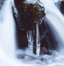 Icicles in a cascade by Intensivelight Panorama-Edition