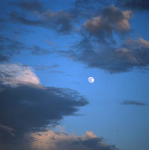 Moon and blue sky by Intensivelight Panorama-Edition
